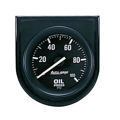 AutoMeter 2332 Autogage Oil Pressure Gauge Panel Mechanical 0-100 PSI - 2-1/16