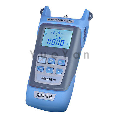 Optical Power Meter For Optical Fiber Networks Lcd Display -5020 Dbm 7 Wavs