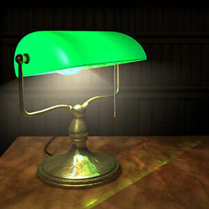 Looking for bankers lamp