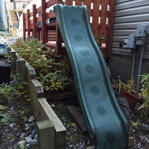 Plastic slide for playhouse FREE