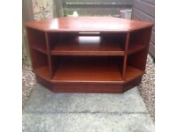 G Plan Corner TV Unit.