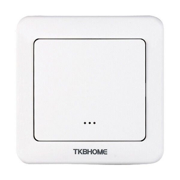 TKB HOME - Z-Wave Plus Wall Switch with Single Paddle TZ36-S-ZW5