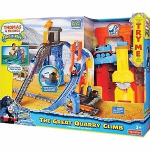 JEU THOMAS & FRIENDS TRAIN TAKE N PLAY LA GRANDE CARRIÈRE NEUF