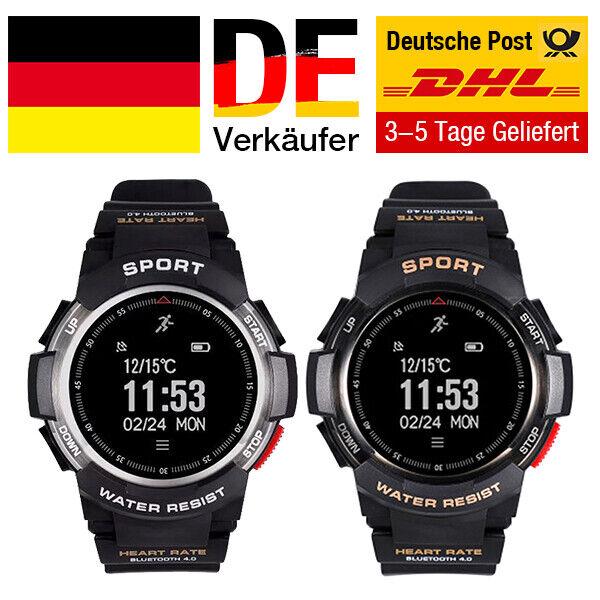 Fitnesstracker mit GPS Sportliches Armband Uhr Aktivität Pulsuhr SmartWatch DHL