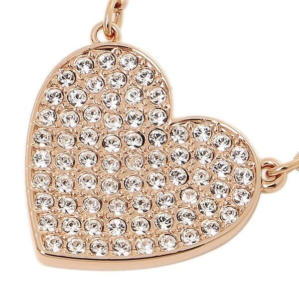 57b7faadbffd9b Swarovski Cupid White Crystal Rose Gold Plated Heart Necklace