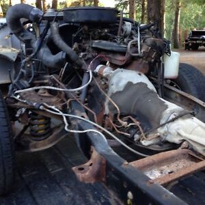 Dodge slant 6 engine w/auto Trans $250