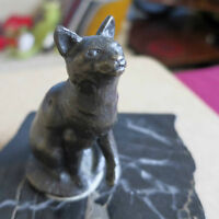 Bronze Cat Sculpture - Siggy Puchta