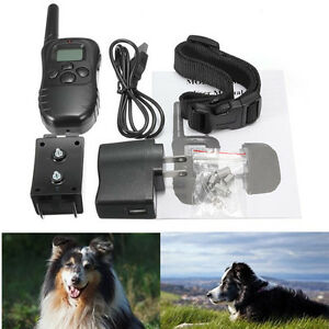 DOG TRAINING COLLAR High Quality 300M Rechargeable And Waterproo