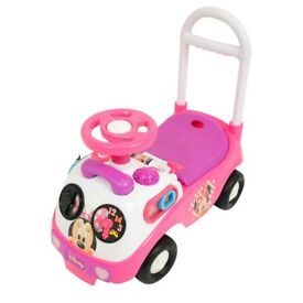 Minnie Mouse My First Ride-On NEW! Never Used