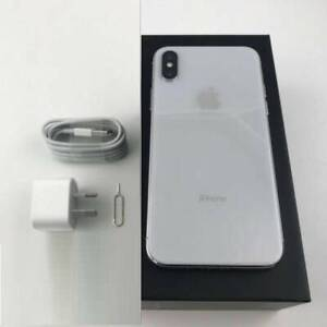 iPhone X 256GB  Silver / Space grey (Unlocked with warranty)
