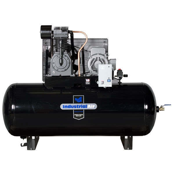 Industrial Air 7.5-hp 120-gallon Two-stage Air Compressor (230v 1-phase) W/ S...