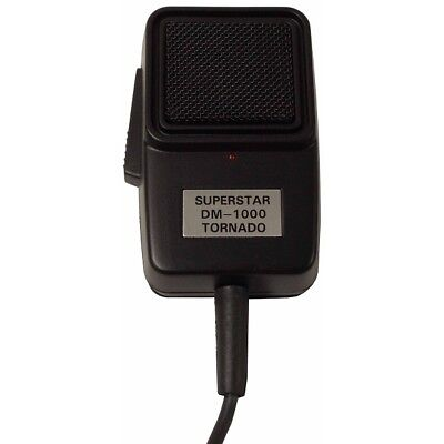 WORKMAN DM1000 SUPERSTAR 4 PIN POWER ECHO CB MICROPHONE WITH DUAL CONTROLS ](Echo Microphone)