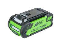 Greenworks Battery Li-Ion 40V battery charger.40V Li-Ion