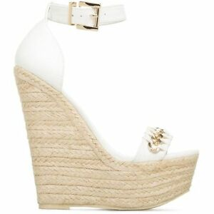 White Wedges from shoedazzle
