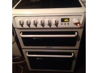 £45 HOTPOINT 60 CM WIDE ELECTRIC COOKER