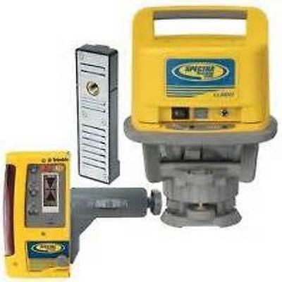 Trimble Spectra Precision Ll500 Laser Level W Cr600 Receiver Recharge Kit
