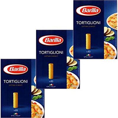 Barilla Nudeln Tortiglioni Nummer 83 Hartweizennudeln 3er Pack