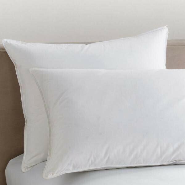 "King Size 20x36"" Down Alternative Polyester Bedding Pillows"