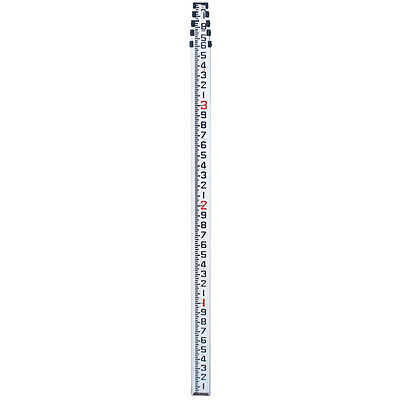 16 Aluminum Telescopic Level Rod In Inches 8ths For Surveying Contractor Grade