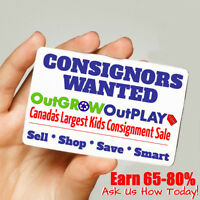 Barrie's MEGA Kid's Sale looking for CONSIGNORS
