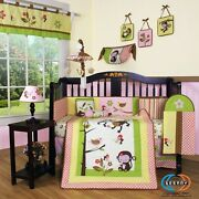 Monkey Nursery Bedding