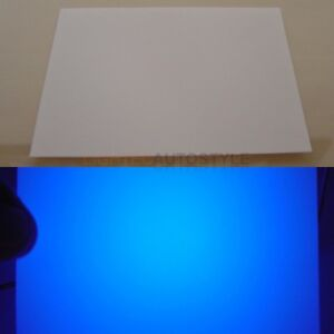 TRANSLUCENT-WHITE-CLEAR-FILTER-PLASTIC-COLOUR-DIFFUSER-CARD-LED-LCD-USE-VAUXHALL