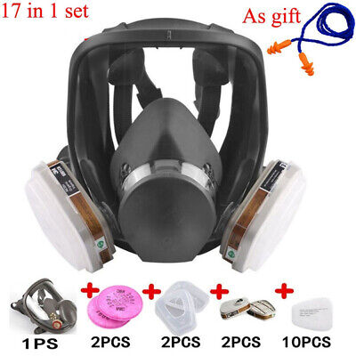 17 In 1 - 6800 Full Face Painting Spraying Safety Respirator Gas Mask