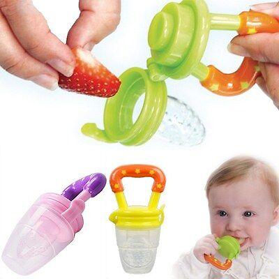 Hot Baby Pacifier feeding Fresh Food Baby Supplies Nibbler Feeder Feeding Tool