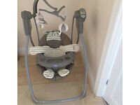 Swinging Graco chair
