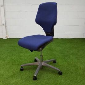 giroflex G64 chair blue fabric cheap office furniture
