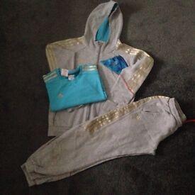 Boys adidas team GB , tracksuit and t-shirt age 11/12