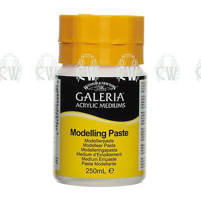 Winsor & Newton Galeria Modelling Paste Acrylic 250ml. Artists Paint Medium