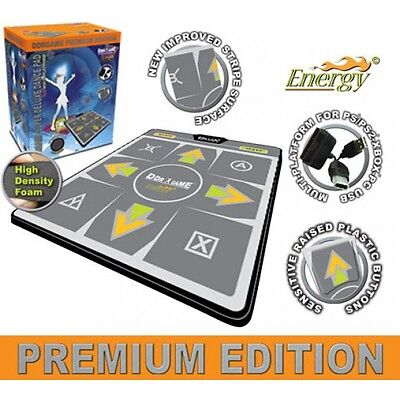 DDR Energy Premium Edition Super Deluxe Dance Pad for PS2 Xbox PC (Premium Edition Dance Pad)