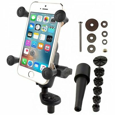 RAM Mount X-Grip Phone Cradle With Fork Stem Mount & Short Arm RAM-B-176-A-UN7U
