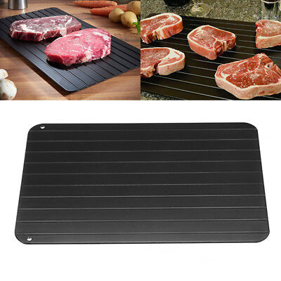 Fast Defrosting Meat Tray Rapid Safety Thawing Tray For Frozen Food 23x16x0.3cm