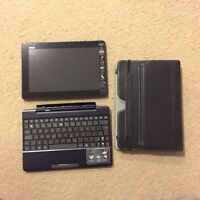 ASUS Transformer Pad TF300T+keyboard dock+ leather sleeve