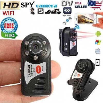 Spy Camera P2p Ip Wifi Mini Portable Camera Indoor Outdoor Hd Dv Hidden Security