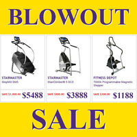 !!!BEST PRICES!!! BRAND NEW STEPPERS & STAIR CLIMBERS ON SALE!!!