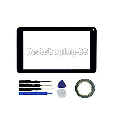 USA New Black Digitizer Touch Screen for Azpen A746 7 inch Tablet