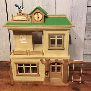 Sylvanian Families/ Calico Critters Retired School House HTF