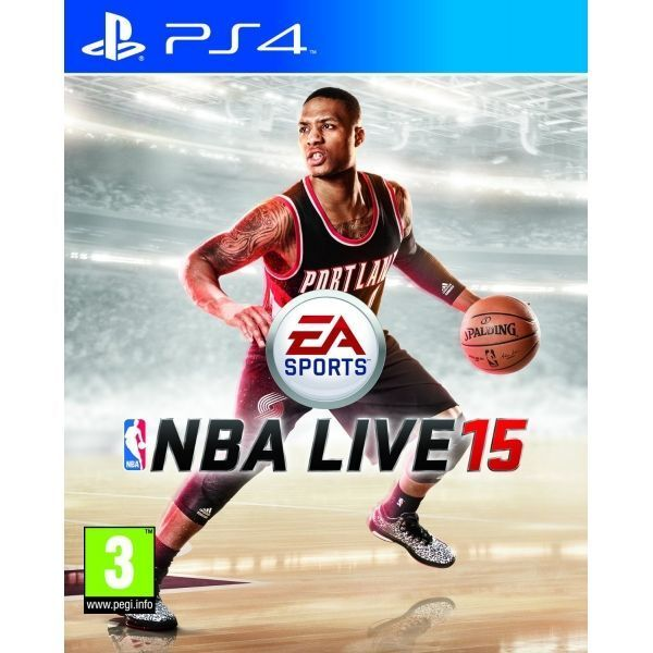 NBA Live 15 PS4 Game - Brand new!