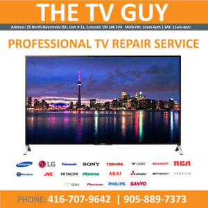 TV REPAIR | TV SERVICE | TORONTO & GTA | ALL TV MAKES AND MODELS
