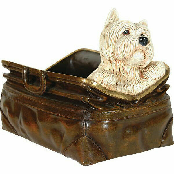 """17"""" Scottie in Bag Statue Novelty Decor Collectible"""