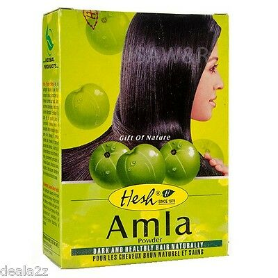 6 X 100g Hesh Amla Powder Indian Gooseberry Hair Loss Hai...