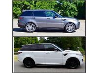 Wedding Car Service: RANGE ROVER SPORT