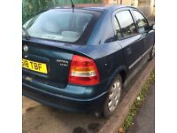 Vauxhall Astra 1.4i, FSH stamped, 98k miles,CAMBELT changed