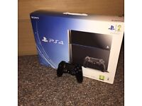 Mint condition PS4, 500gb Model & Warranty
