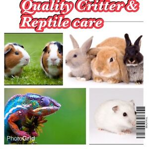 Quality Critter and Reptile care