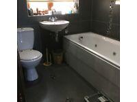 Bathroom Suite with A Whirlpool Bath