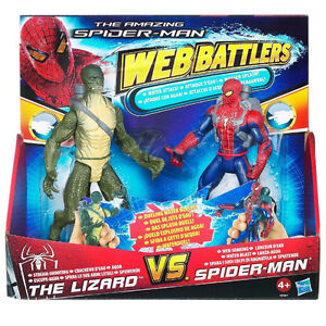 BRAND NEW! Amazing Spider-Man Web Battlers Water Attack Lizard Windsor Region Ontario image 1